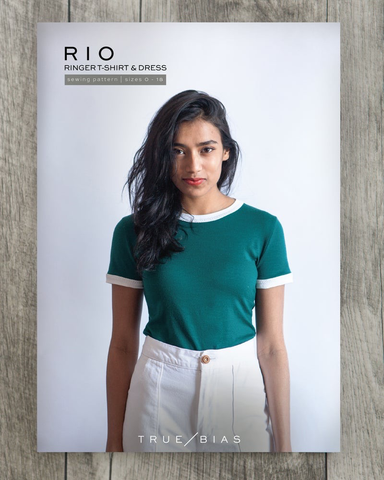 The Rio Ringer T-Shirt and Dress Pattern by True Bias