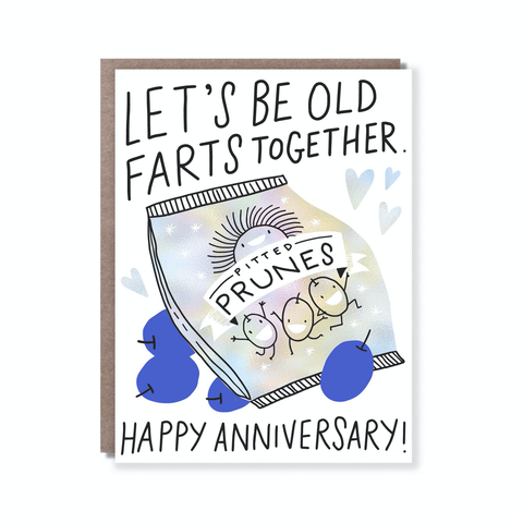 Hello Lucky Old Farts Card