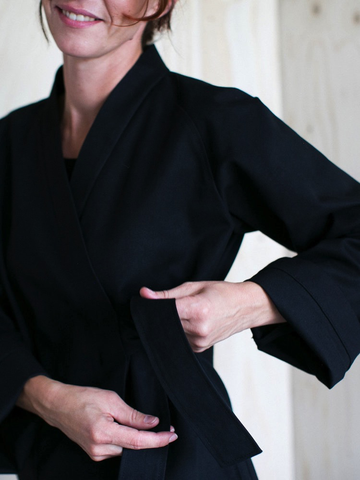 Wrap Jacket Sewing Pattern by The Assembly Line