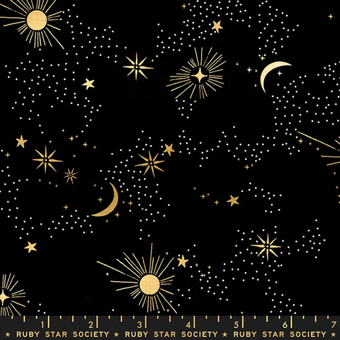 Ruby Star Society Florida by Sarah Watts Cosmos Black (Metallic)