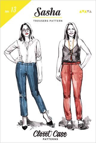 Closet Case Patterns Sasha Trousers Sewing Pattern