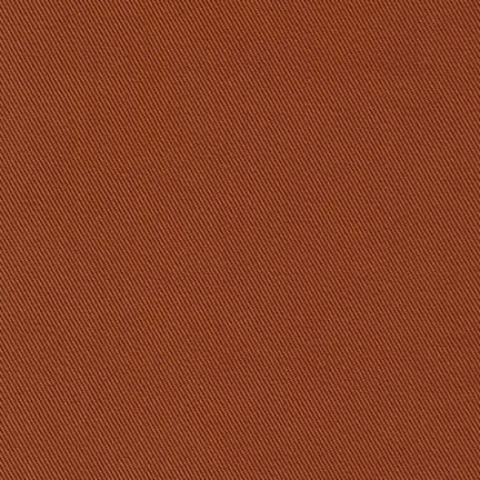 Robert Kaufman Ventana Twill Brick Brown