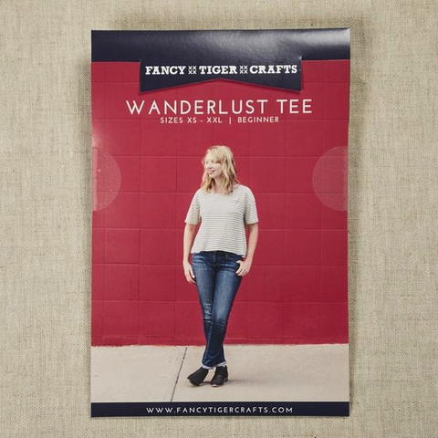Wanderlust Tee by Fancy Tiger Crafts