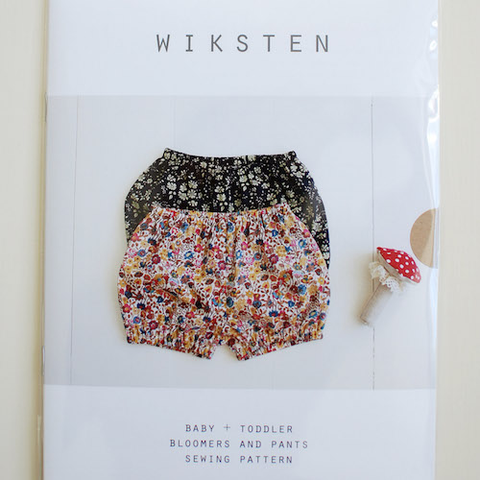 Wiksten Baby + Toddler Bloomers and Pants Sewing Pattern