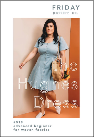 Friday Pattern Company Hughes Dress Clothing Pattern