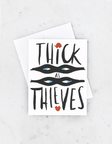 Idlewild Co. Thick As Theives Card
