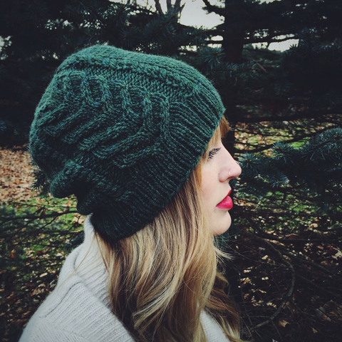 Prim Hat Knitting Pattern by Drea Renee Knits