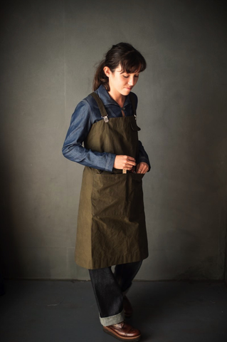 Merchant and Mills The Victor Apron Sewing Pattern