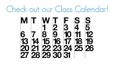 Our Spring Class Schedule