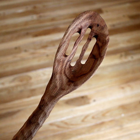 Slotted Heavy Chef Spoon