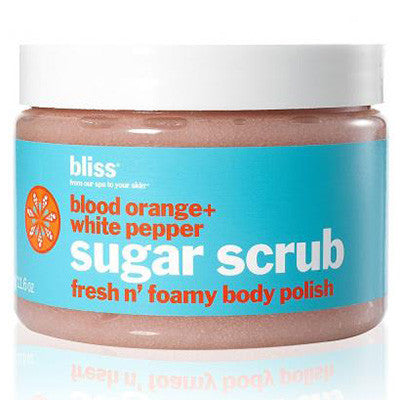 Blood Orange + White Pepper Body Scrub - MONACO JEANS