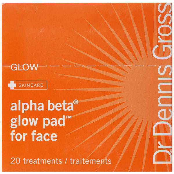 Alpha Beta Glow Pad For Face 20 Packettes - MONACO JEANS