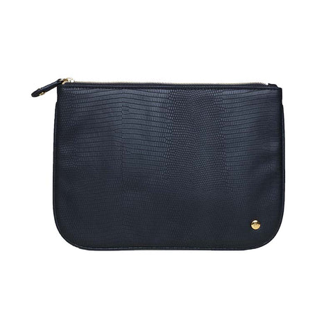 Large Flat Pouch Black