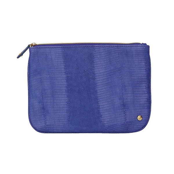 Large Flat Pouch Deep Purple
