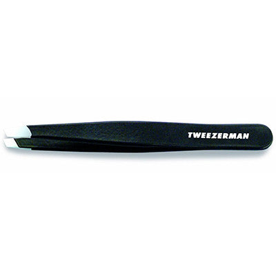 Stainless Steel Slant Tweezer Black - MONACO JEANS