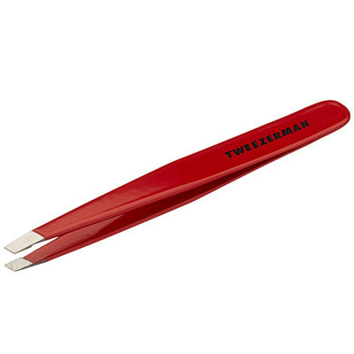 Stainless Steel Slant Tweezer Signature Red - MONACO JEANS