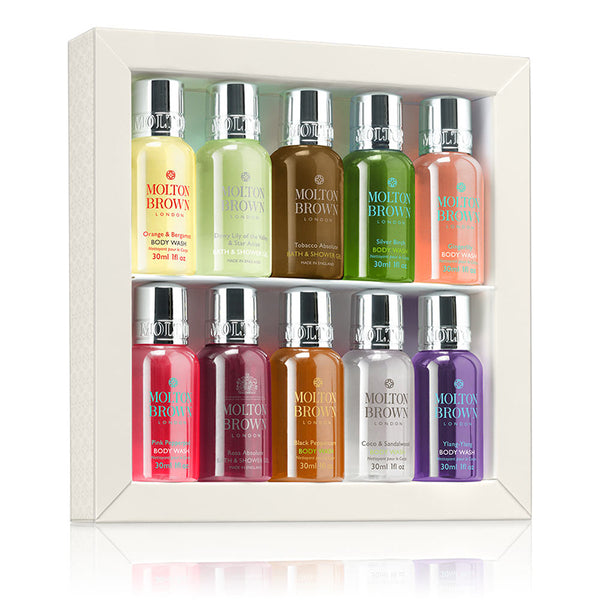 Signature Scents Mini Bath & Shower Gel Collection