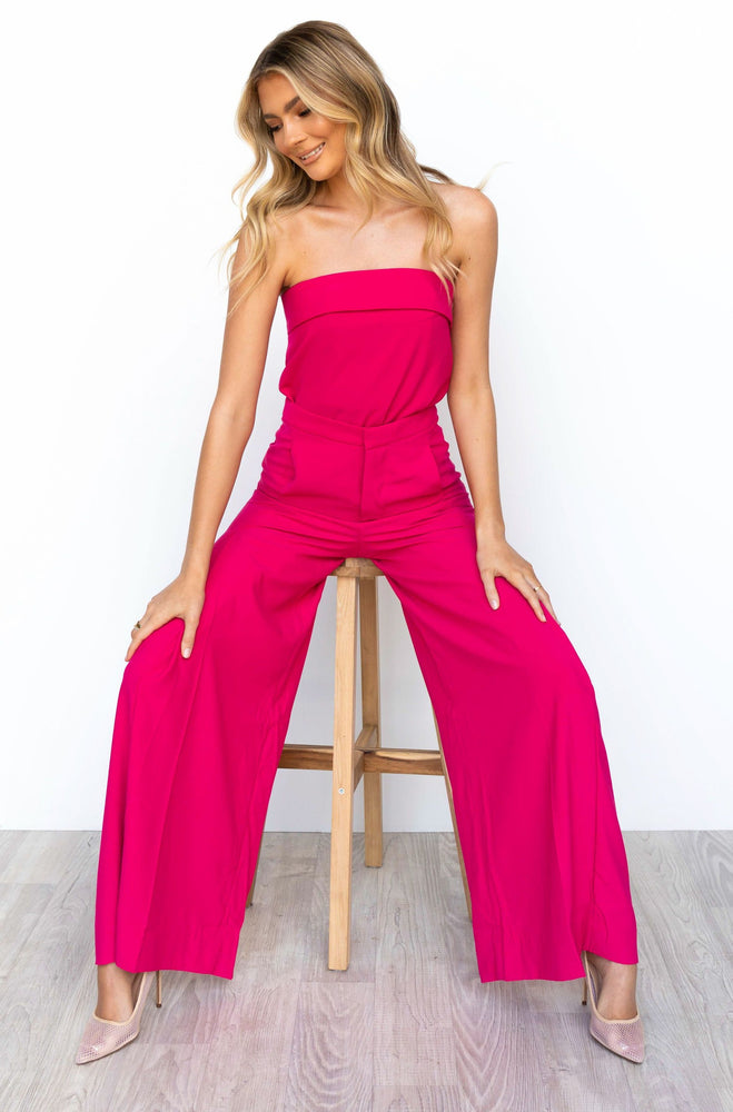 Hamptons Top - Hot Pink