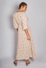 Verity Maxi Dress - Beige Floral