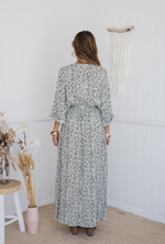 Verity Maxi Dress - Green Floral