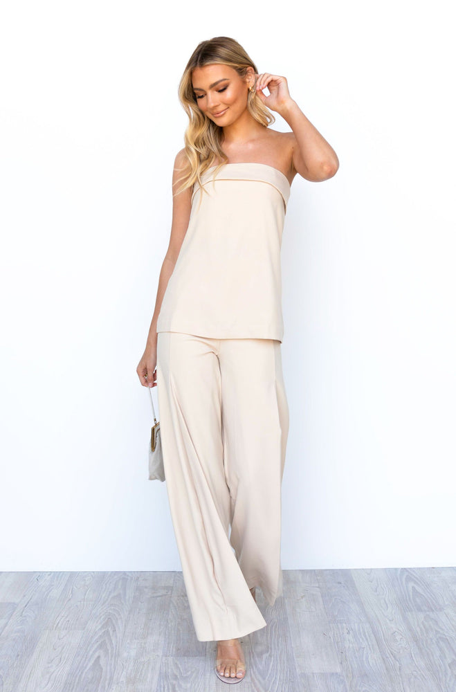 Hamptons Top - Beige