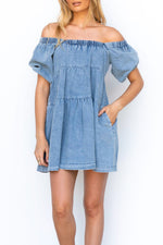 Chic Denim Dress
