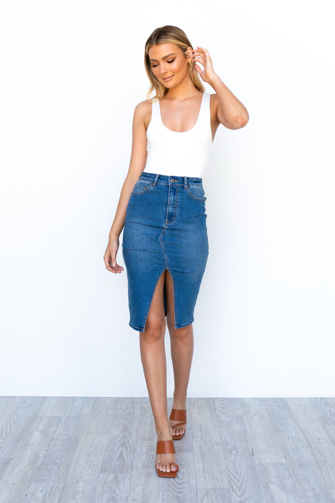 Tila Denim Skirt