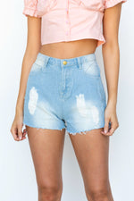 Malik Denim Shorts