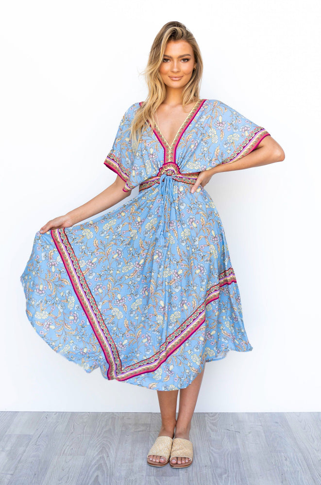 Zion Dress - Blue