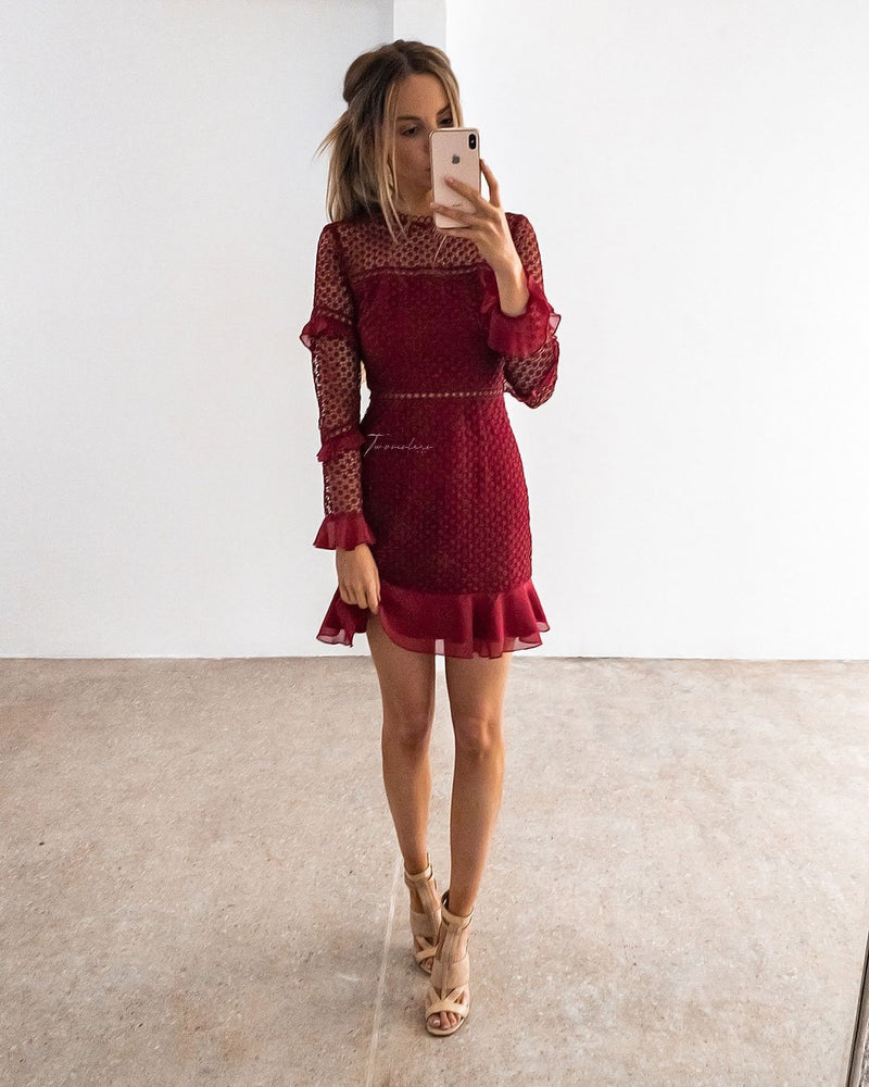 Parson Dress - Red
