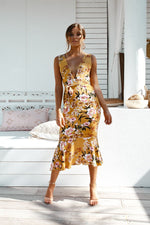 Giselle Dress - Yellow - STYLE STRUCK
