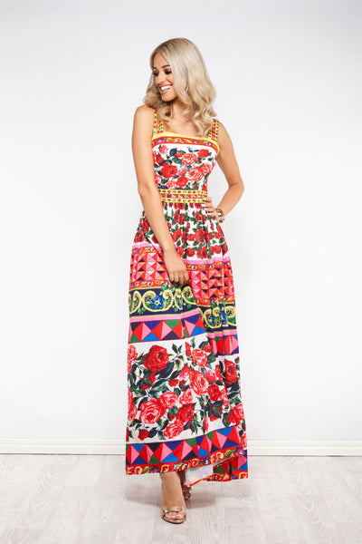 Wild Flower Maxi Dress -Nouveau Riche The Label