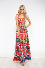 Wild Flower Maxi Dress - Style Struck
