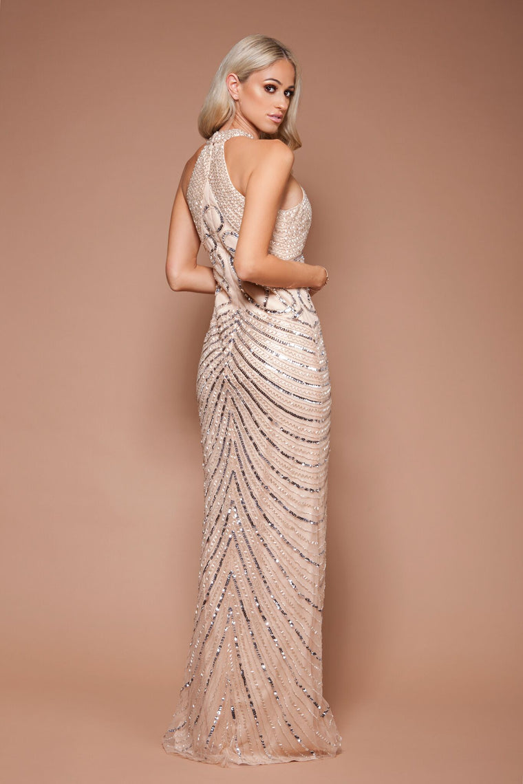 Lora Gown - Champagne By Solace The Label