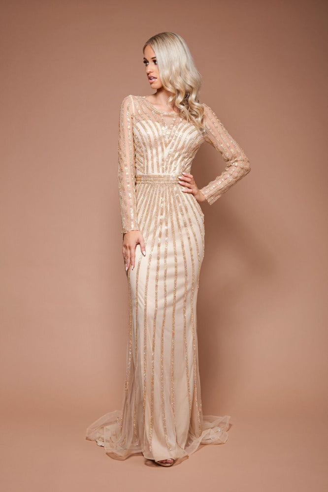Alexa Gown - Gold by Solace The Label - STYLE STRUCK