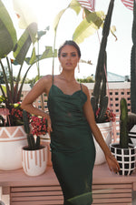 Leanne Dress - Emerald - STYLE STRUCK