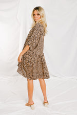 Neesh Dress - Leopard - STYLE STRUCK
