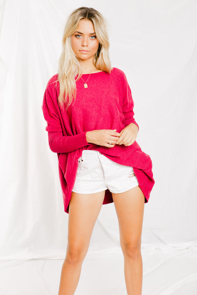 Larosa Knit - Plum -Slideshow