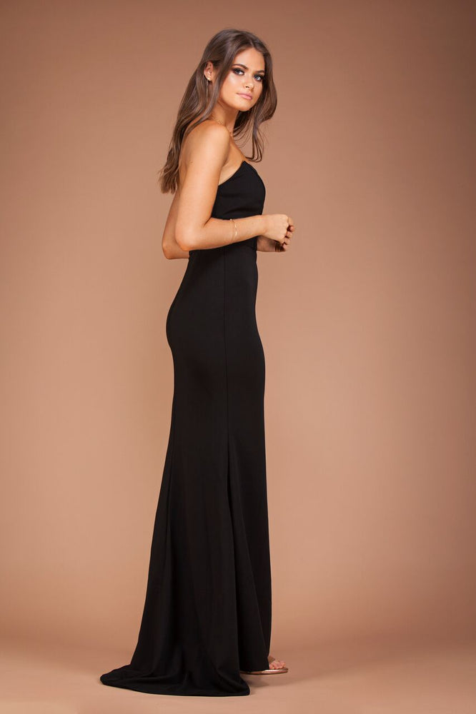 Jadior Gown - Black by Solace The Label - STYLE STRUCK