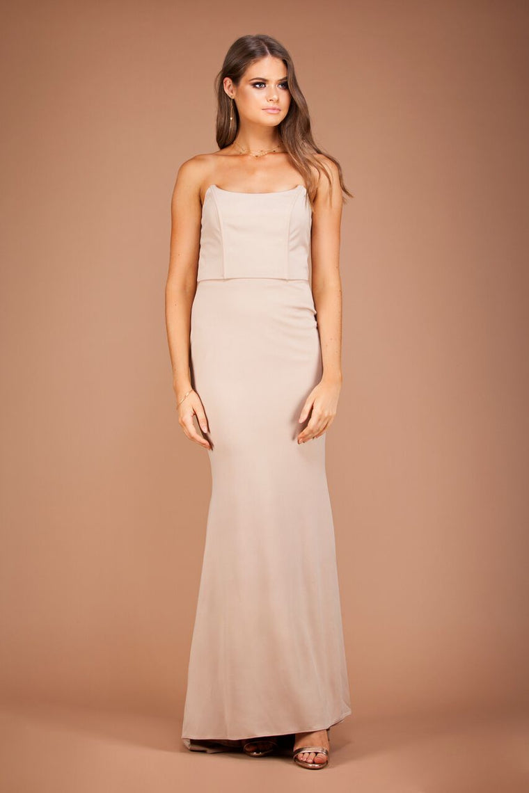 Jadior Gown - Ivory by Solace The Label