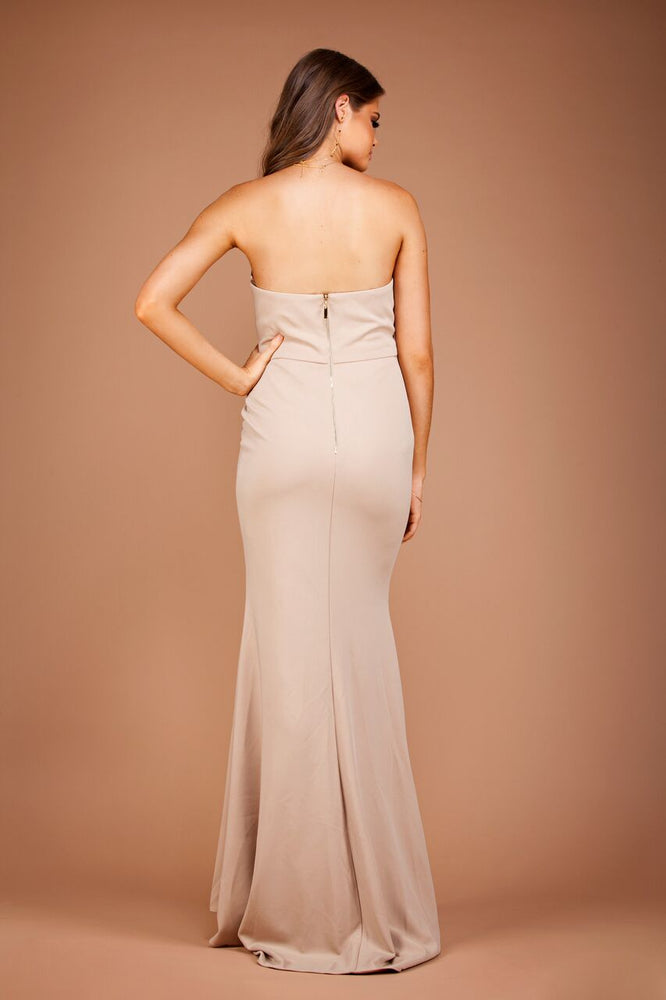 Jadior Gown - Ivory by Solace The Label - STYLE STRUCK