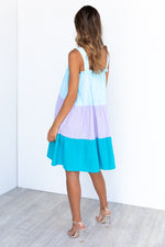 Milano Dress - Blue