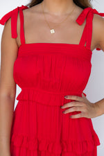 Marissa Maxi Dress - Red