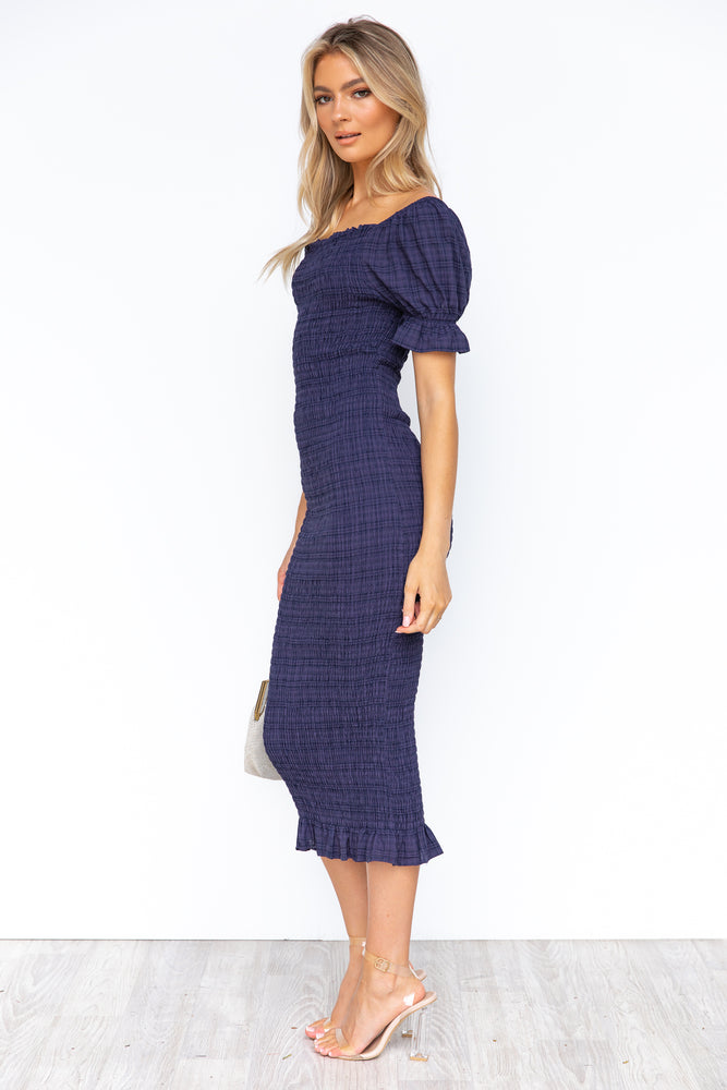 Edmiston Dress - Navy