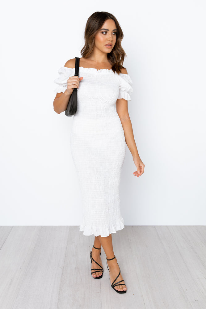 Edmiston Dress - White [Pre order]