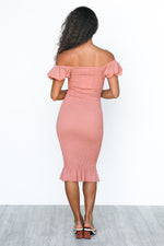 Lilia Dress - Mauve