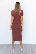 Frankie Dress - Brown