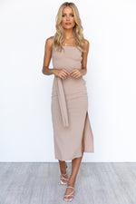 Leilani Dress - Nude