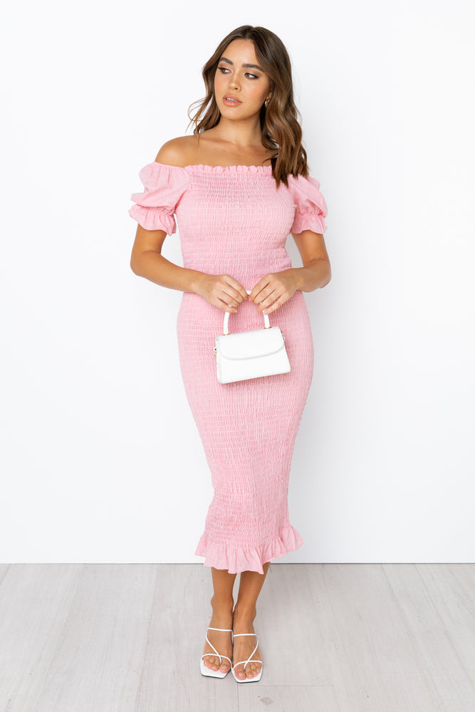 Edmiston Dress - Pink