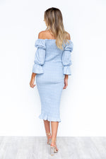 Courtney Dress - Blue